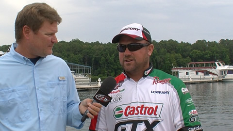 Pre-Tournament Report from Kentucky Lake with David Dudley