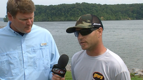 Pre-Tournament Report from Kentucky Lake with Brandon Hunter