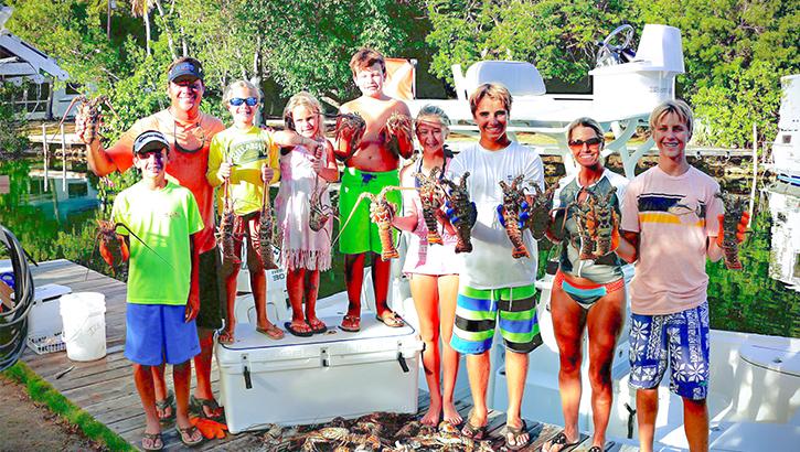 Scott Martin s Family Lobster Hunt