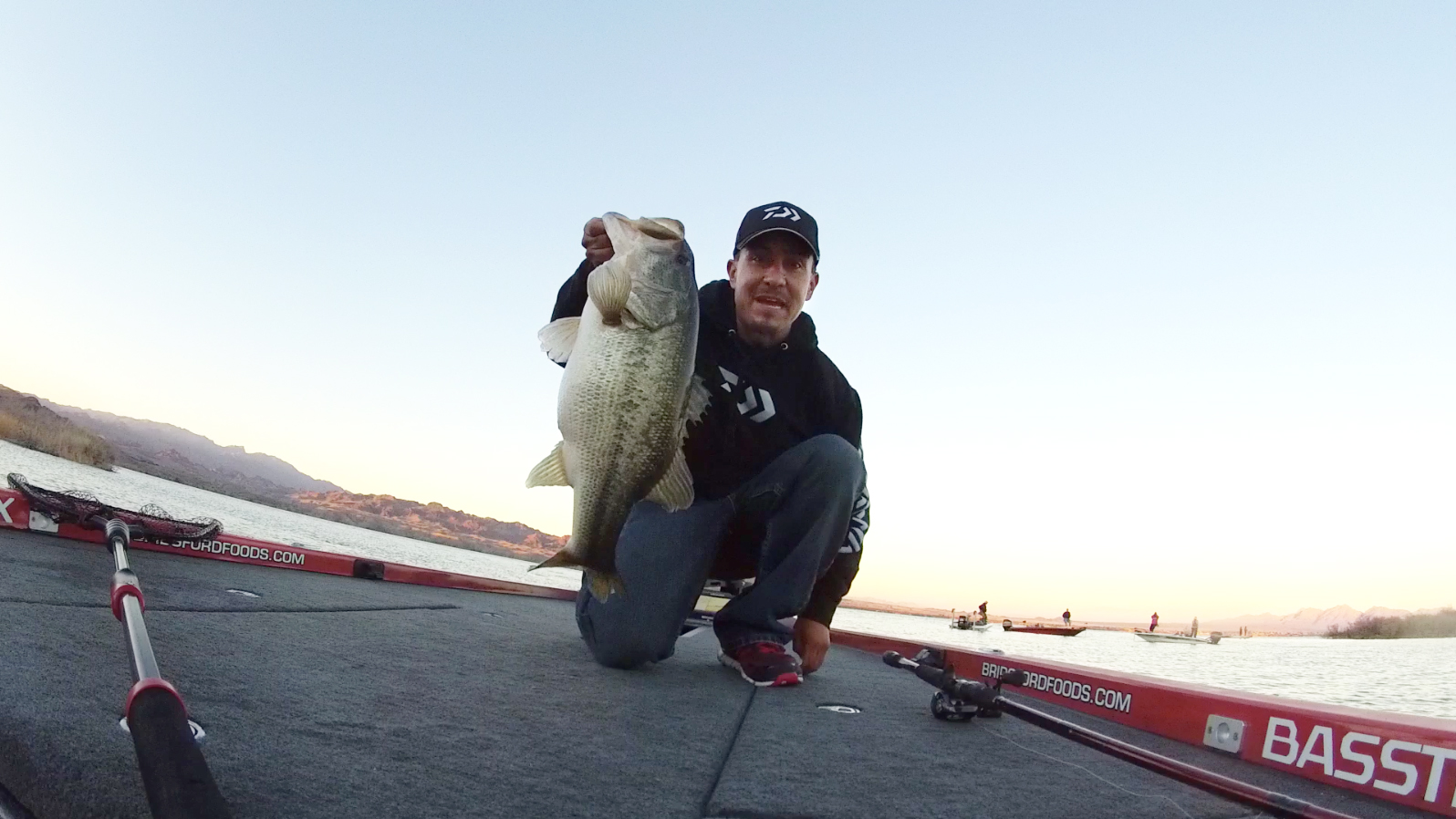 Joe Uribe Jr. s amazing final day of fishing on Lake Havasu