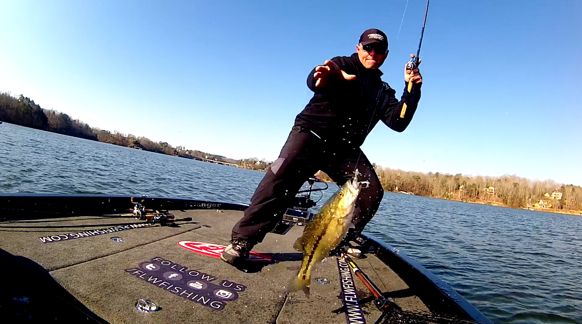 Dave Lefebre has a Miracle Day on Lewis Smith Lake