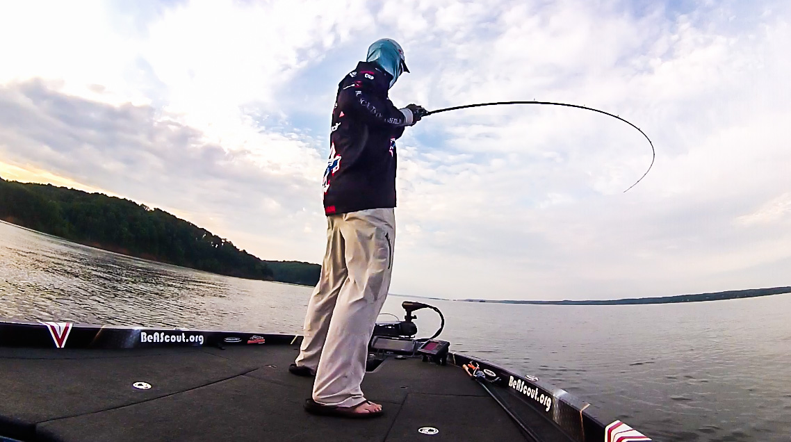 Tom Redington s 25 pounds on Kentucky Lake