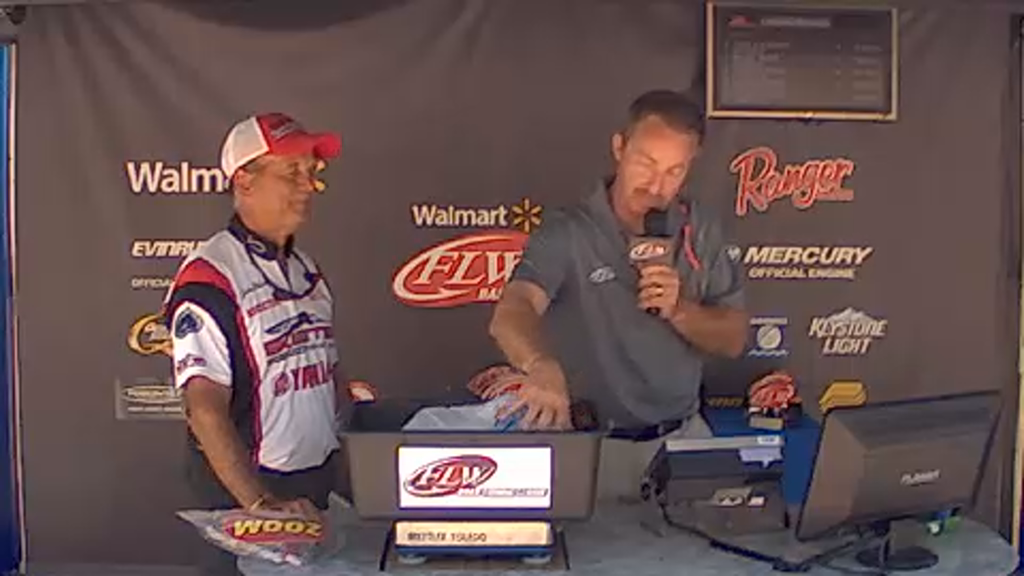 2015 BFL Clarks Hill Lake May 16 Weigh-in - Part 1