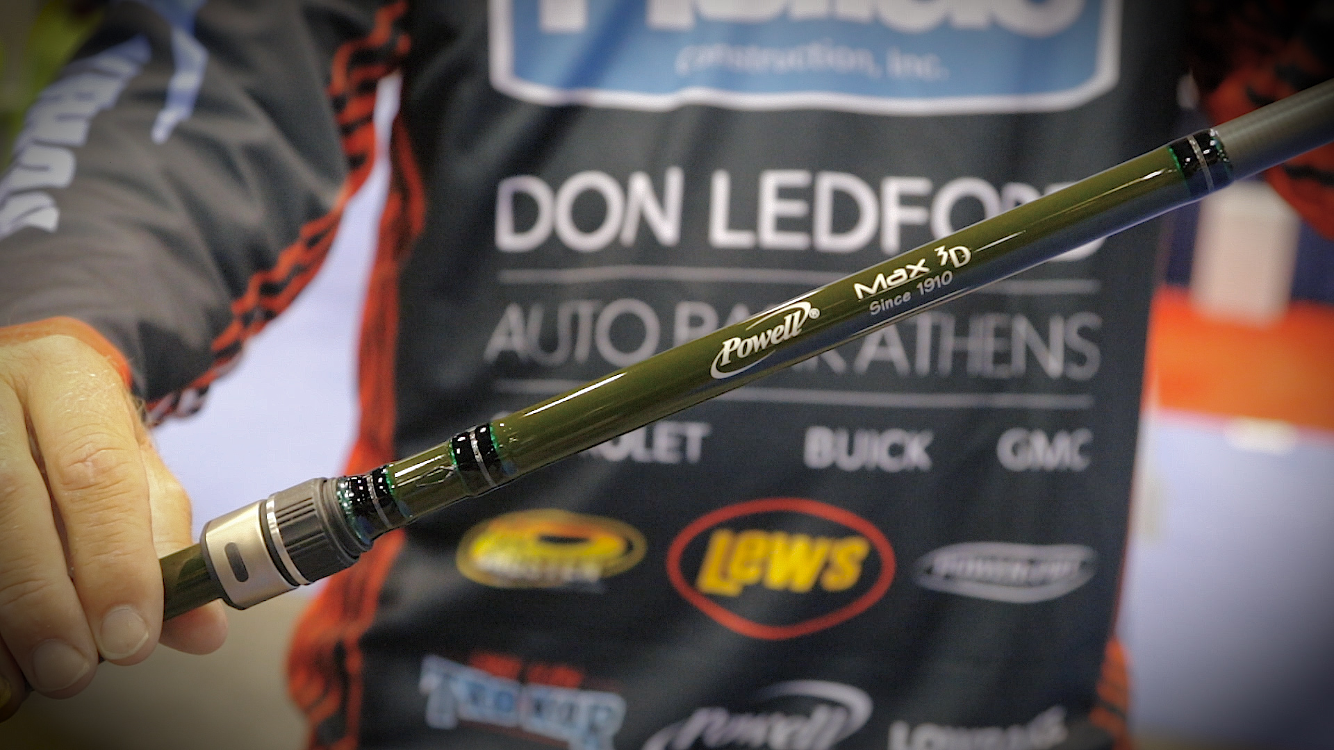 ICAST 2015 - Powell Rods with Wesley Strader