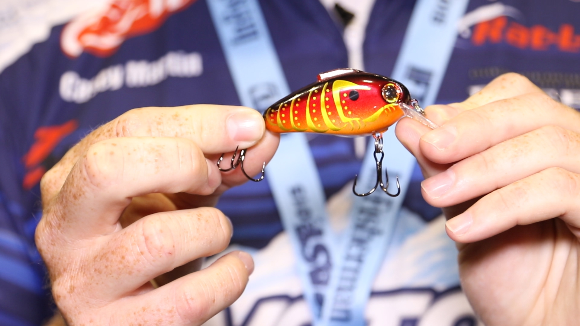 ICAST 2015 - Rat-L-Trap Echo 1.75 with Casey Martin