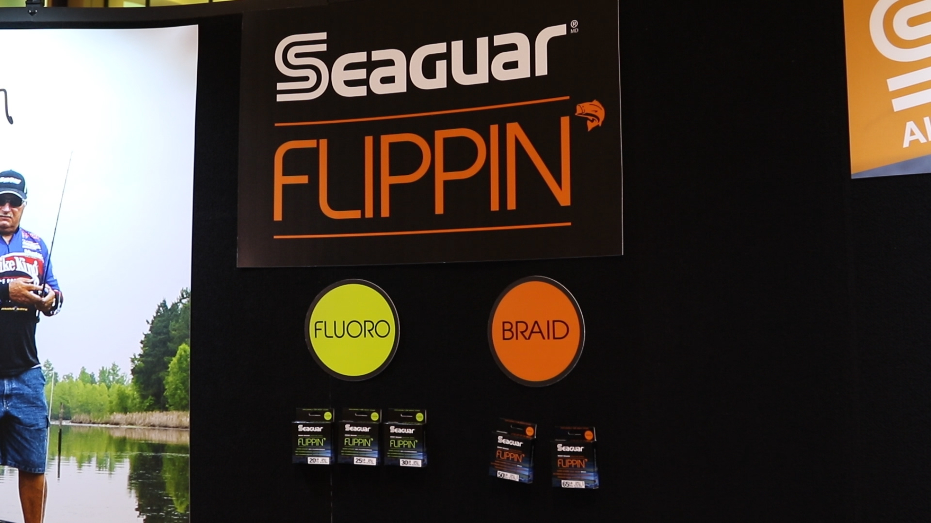 ICAST 2015 - Seaguar Flippin  Line with Mark Daniels Jr.