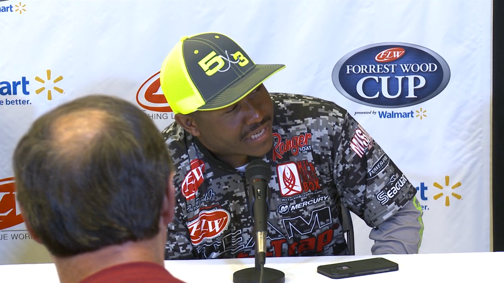 Forrest Wood Cup Press Conference - Anglers 6 through 10