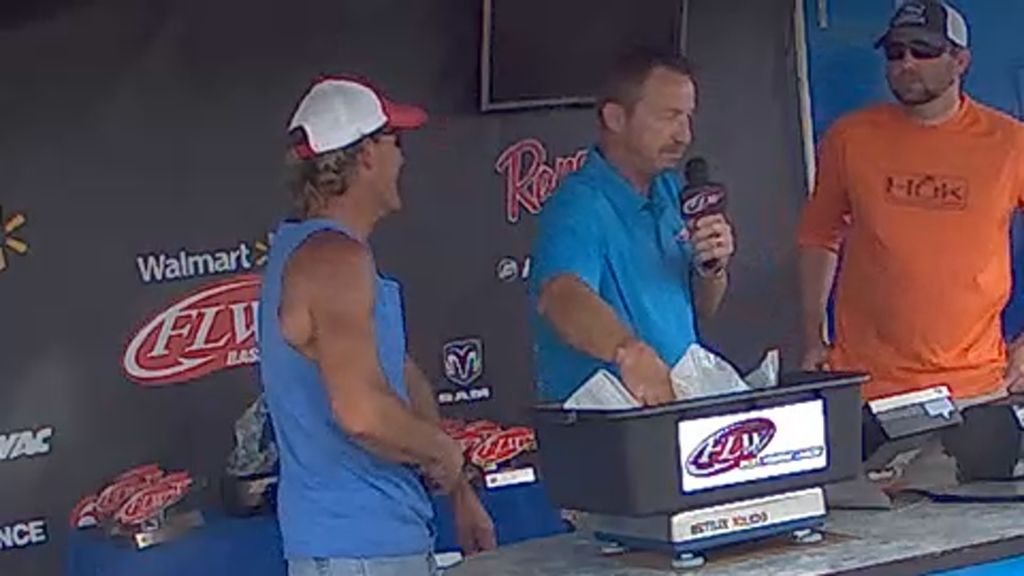 2015 BFL Lake Wylie Aug 29 - 30 Weigh-in - Part 1