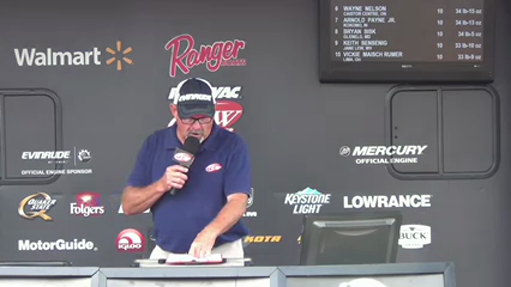 2015 Rayovac FLW Series Lake Erie Aug 27 - 29 Weigh-in