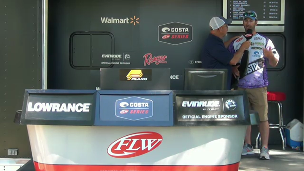 2016 Costa FLW Series Potomac River Jun 16 - 18 Weigh-in
