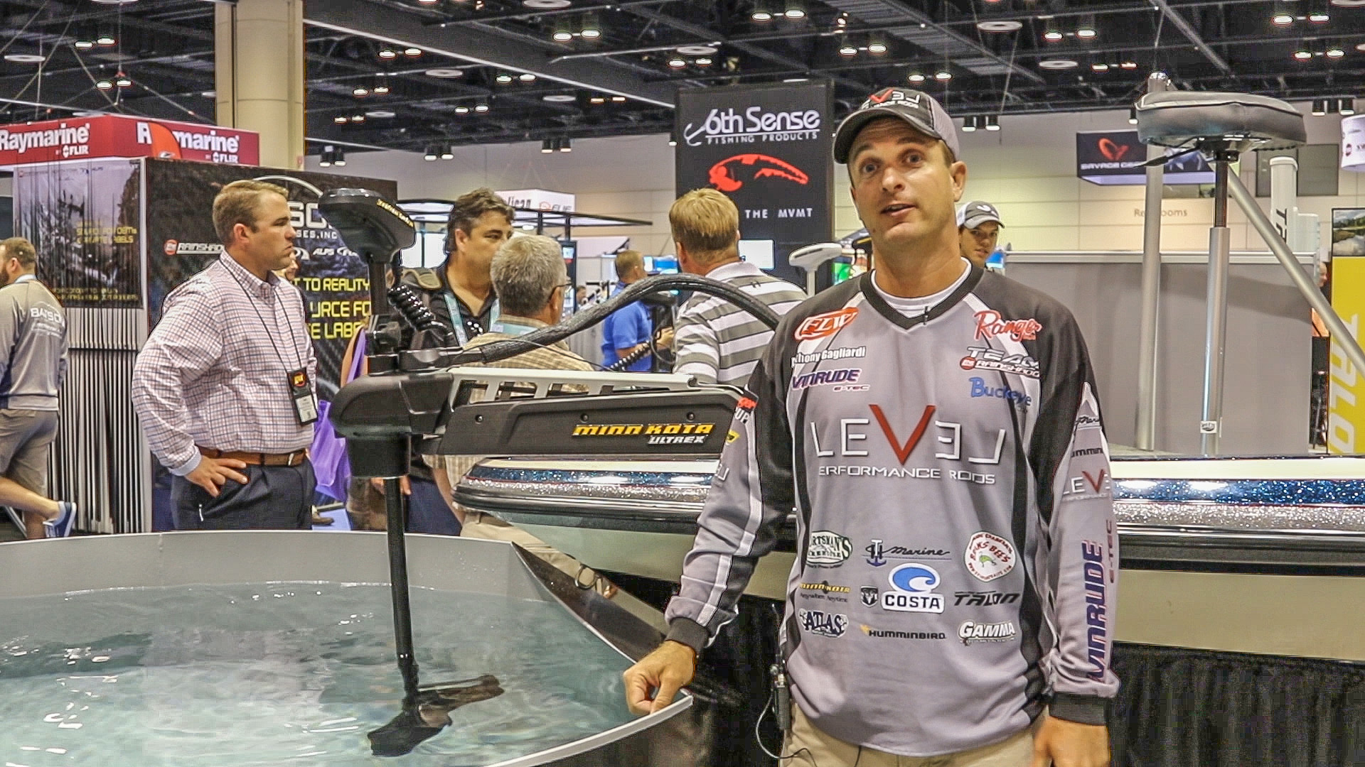 2016 ICAST - Anthony Gagliardi with Minn Kota
