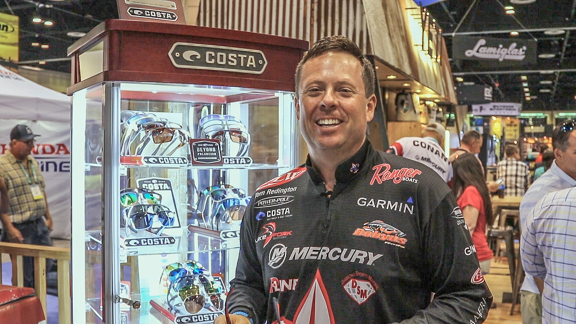 2016 ICAST - Tom Redington with Costa