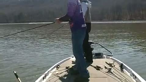 YOUNG HARRIS COLLEGE - RUTHERFORD   THOMPSON000 - Lake Guntersville - 1 - video  8