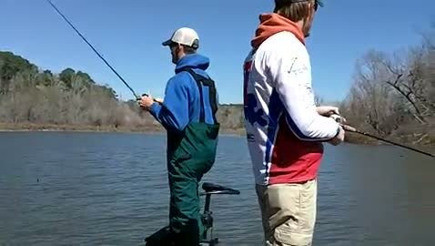 LOUISIANA TECH UNIVERSITY - LOETSCHER   IGO00 - Sam Rayburn Reservoir - 1 - video  33