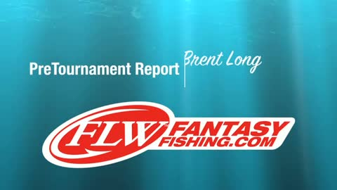 Pre-Tournament Report from Lake Eufaula with Brent Long