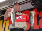 Rounding out the local angler triumverate was Darren Zumach of Onalaska, Wis., who placed third with five bass weighing 9 pounds, 8 ounces.