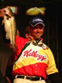 Dave Lefebre caught a two-day total of 10 bass weighing 27 pounds, 7 ounces despite facing tough conditions on the Tennessee fishery.