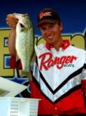 Pro Brent Ehrler of Redlands, Calif., landed the heaviest limit of the day - 14 pounds, 8 ounces - finished the final round with a 27-9 total and earned $8,000 for second place in the Pro Division.