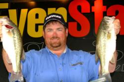 Pro Dan Morehead of Paducah, Ky., used a two-day catch of 23 pounds, 9 ounces to finish the Pickwick Lake event in second place.