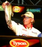 Tom Monsoor of La Crosse, Wis., caught 23-3 total in the final round and finished in third place.
