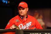 Scott Boatright of Sheridan, Ark., leads the Co-angler Division of the 2004 BFL All-American with 10 pounds, 6 ounces.