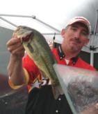 Pro Kenneth Chapman of Woodlawn, Tenn., finished fourth with a two-day total of 24 pounds, 15 ounces.