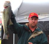 Pro Toby Hartsell of Livingston, Texas, finished third with a two-day total of 25 pounds, 2 ounces.