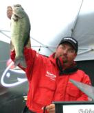 Dan Morehead of Paducah, Ky., finished second after the tiebreaker with a two-day total of 27 pounds.