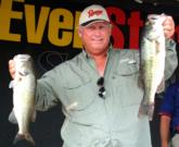 Pro Dwayne Horton of Knoxville, Tenn., finished fifth with a two-day total of 29 pounds, 15 ounces.