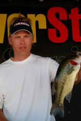 Pro Mike Feldermann of Galena, Ill., finished the tournament in fourth place after landing a total catch of 17 pounds, 12 ounces.