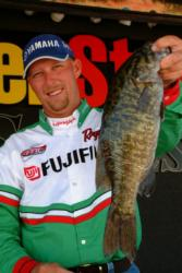 Pro Wesley Strader of Spring City, Tenn., finished seventh with a catch of 10 pounds, 3 ounces.