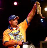 Kevin Vida of Clare, Mich., brought in the day's second-heaviest limit, handily defeating No. 6 seed Tracy Adams of Wilkesboro, N.C., thanks to a 12-pound, 6-ounce stringer.