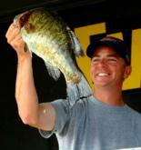 Pro Brad Brodnicki of Amherst, N.Y., caught a total of 31 pounds, 14 ounces and finished fourth.