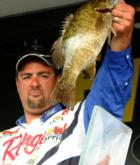 Pro Mark Zona of Sturgis, Mich., finished in fourth place with a weight of 30 pounds, 9 ounces.