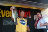 Pro Steve Kennedy of Auburn, Ala., finished fourth with a two-day total of 24 pounds, 15 ounces.
