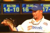 Bobby Lane of Lakeland, Fla., recorded a two-day catch of 14 pounds, 7 ounces to finish in seventh place.