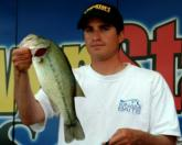Pro Justin Kerr caught 11 bass weighing 17 pounds, 10 ounces in the final round and finished fourth.