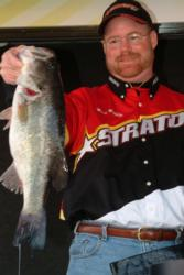 Pro Mark Mauldin finished the EverStart Santee Cooper event in fourth place.