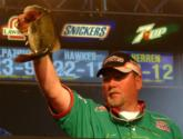 Matt Herren finished in the runner-up position with a two-day total of 10 bass weighing 27 pounds, 12 ounces.