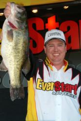 Pro Jimmy Walker of Alpine, Calif., used a two-day catch of 40 pounds, 13 ounces to finish the Clear Lake event in second place.