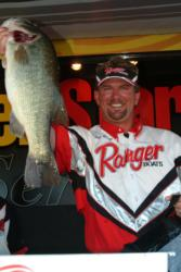 On the strength of a two-day catch of 33 pounds, 2 ounces, pro Jimmy Reese of Witter Springs, Calif., finished the tournament in fourth place, winning a check for $7,700 in the process.