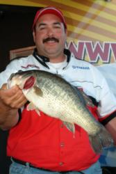 Pro Jerry Ballesteros of Burbank, Calif., used a two-day catch of 31 pounds to capture fifth place and walk away with $7,200 in prize money.