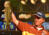 Day-three leader Kelly Jordon of Mineola, Texas, tallied a final-round weight of 23 pounds, 3 ounces and finished in third place.