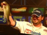 Greg Hackney of Gonzales, La., managed to land three keepers Saturday and took home fourth place with a final weight of 22 pounds, 8 ounces.