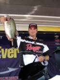Pro Anthony Gagliardi of Prosperity, S.C., finished in third place with a two-day total of 22 pounds, 2 ounces.