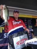 Pro Mike Keel of Auburn, Ala., finished in second place with a two-day total of 24 pounds, 2 ounces.