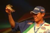 Reigning Bassmaster Classic champ Takahiro Omori put himself in position to claim a Forrest L. Wood Championship title with a 7-2 catch on day three.