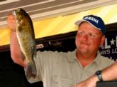 Runner-up pro Jim Jones of Big Bend, Wis., caught a limit weighing 10 pounds, 2 ounces Saturday but came up short of victory with a final total of 25-7.