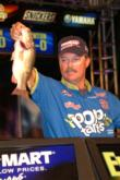 Pro Sam Newby of Pocola, Okla., made adjustments on day three to sack a limit of bass weighing 10 pounds, 10 ounces to take third.