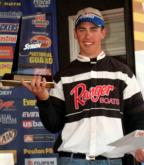 John Billheimer Jr. of Discovery Bay, Calif., a 16-year-old pro fishing his first Stren Series event, caught a two-day total of seven largemouth bass weighing 19 pounds, 12 ounces to win the Stren Series Western Division event on Lake Havasu